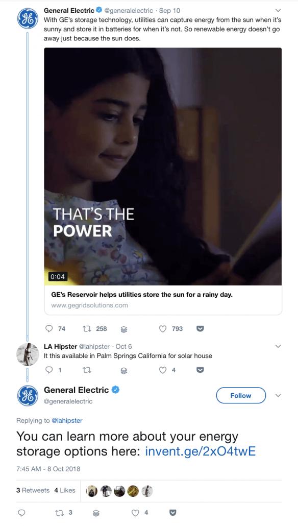 GE Twitter