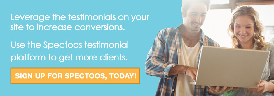 use testimonials to increase conversions