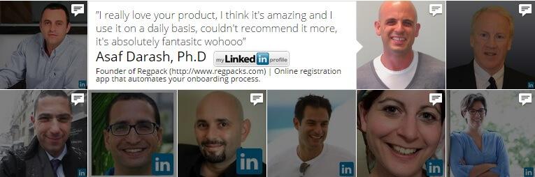 LinkedIn Customer Testimonials