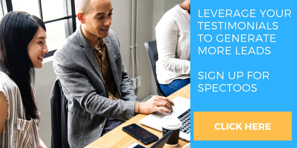 Generate more leads with Spectoos