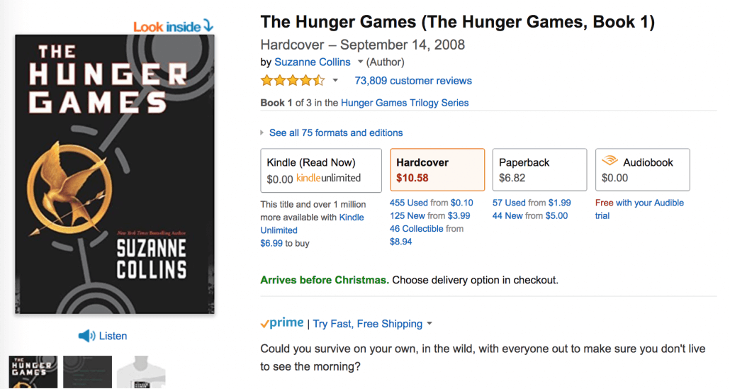 hunger games online reviews
