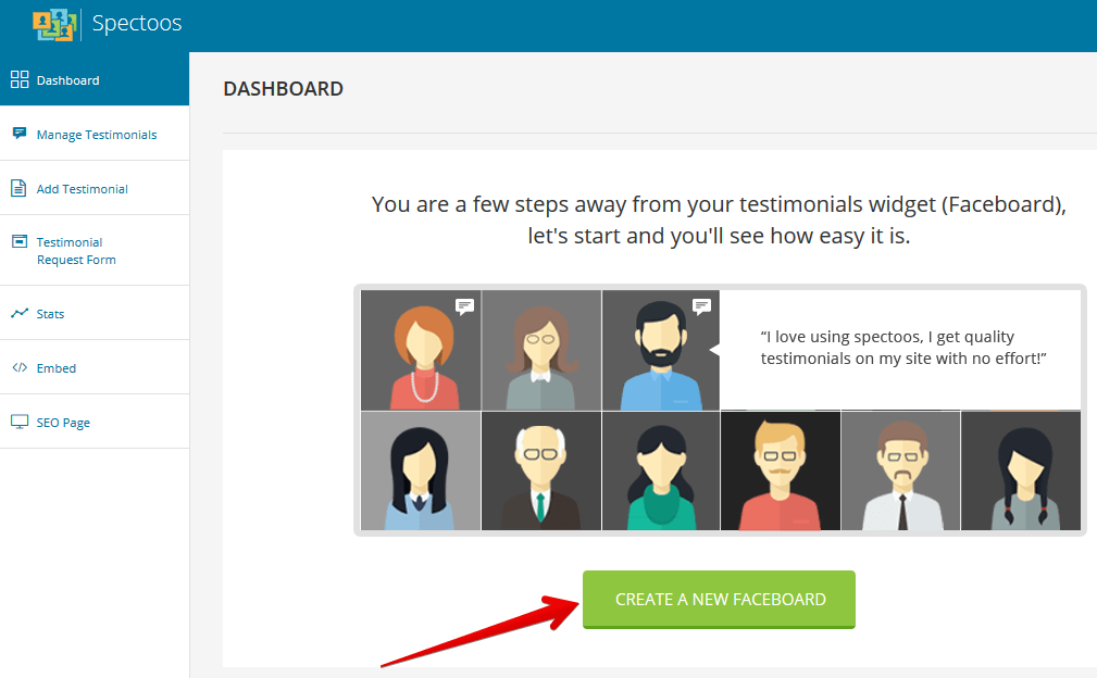 Spectoos Create New Faceboard