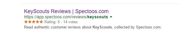 spectoos seo ranking results