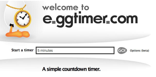 Welcome to e.ggtimer