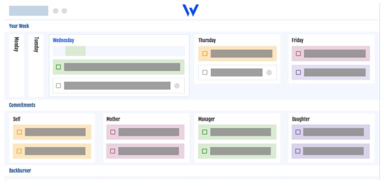 The Week Plan App