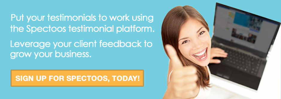 use testimonials to grow your business