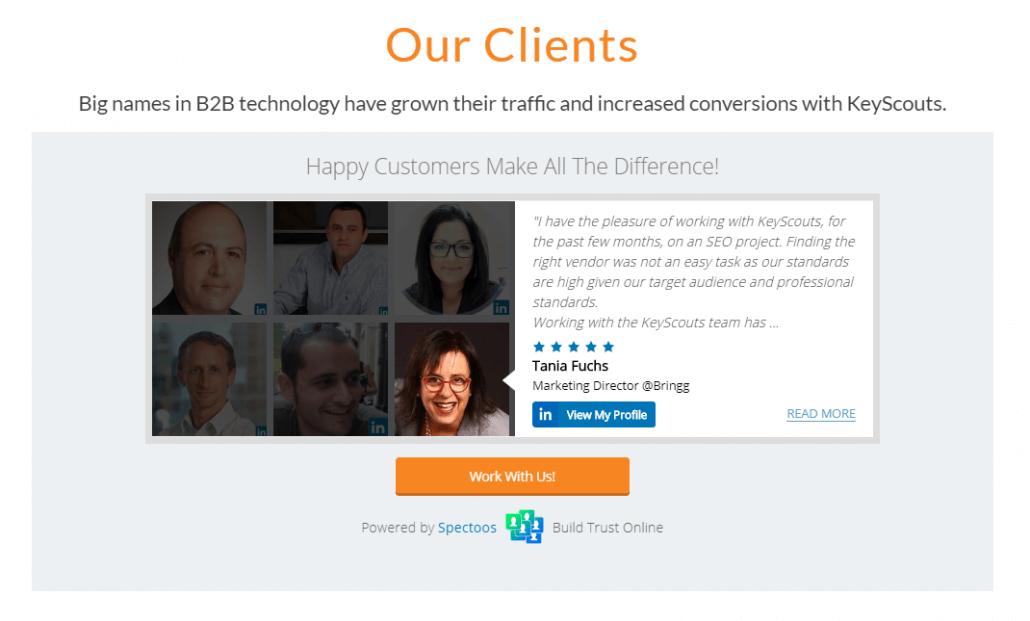 Faceboard LinkedIn
